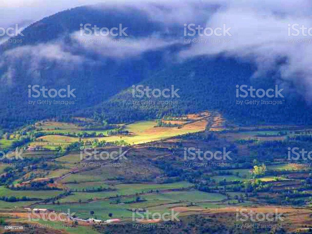 Montanhas foto royalty-free
