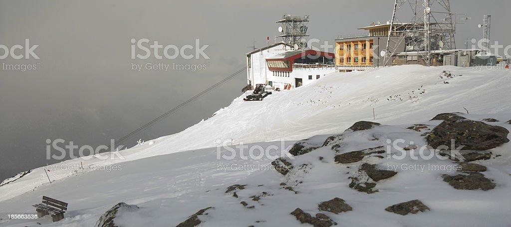 Mountains ski resort  Austria royalty-free stock photo