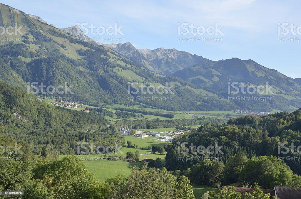 Mountains, Switzerland royalty-free stock photo