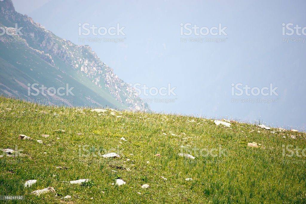 Mountains valley royalty-free stock photo