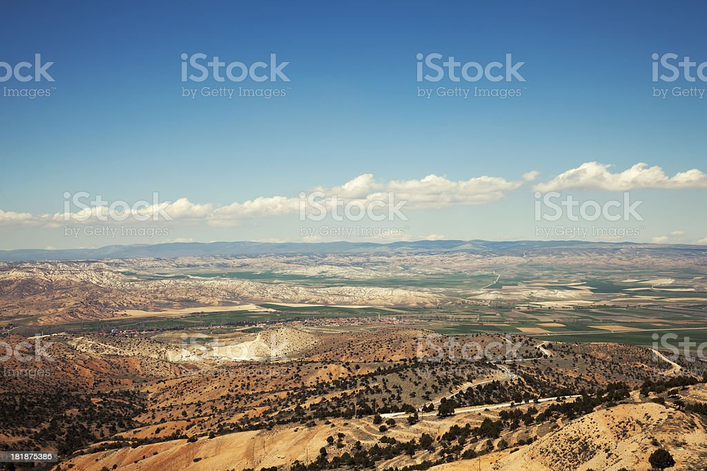 Mountains with beautiful landscape royalty-free stock photo