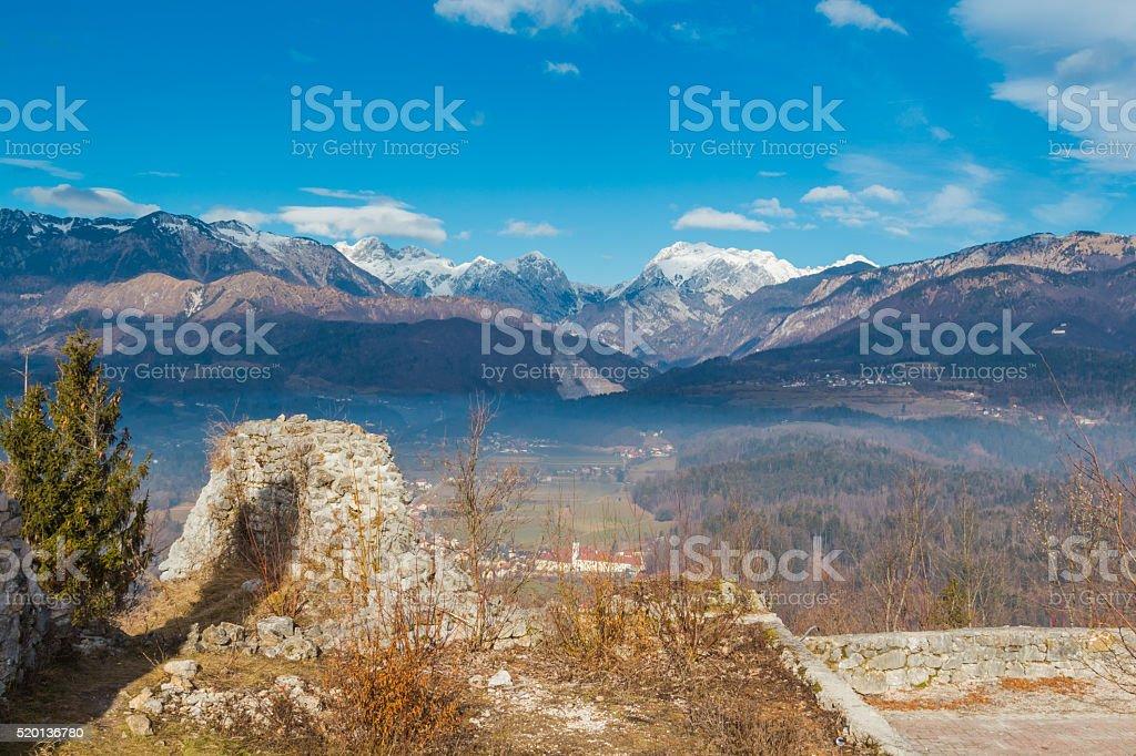 Mountainscape. stock photo