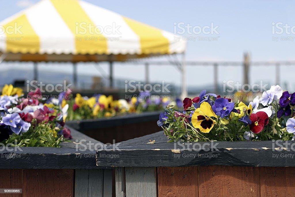 Mountaintop Cafe stock photo