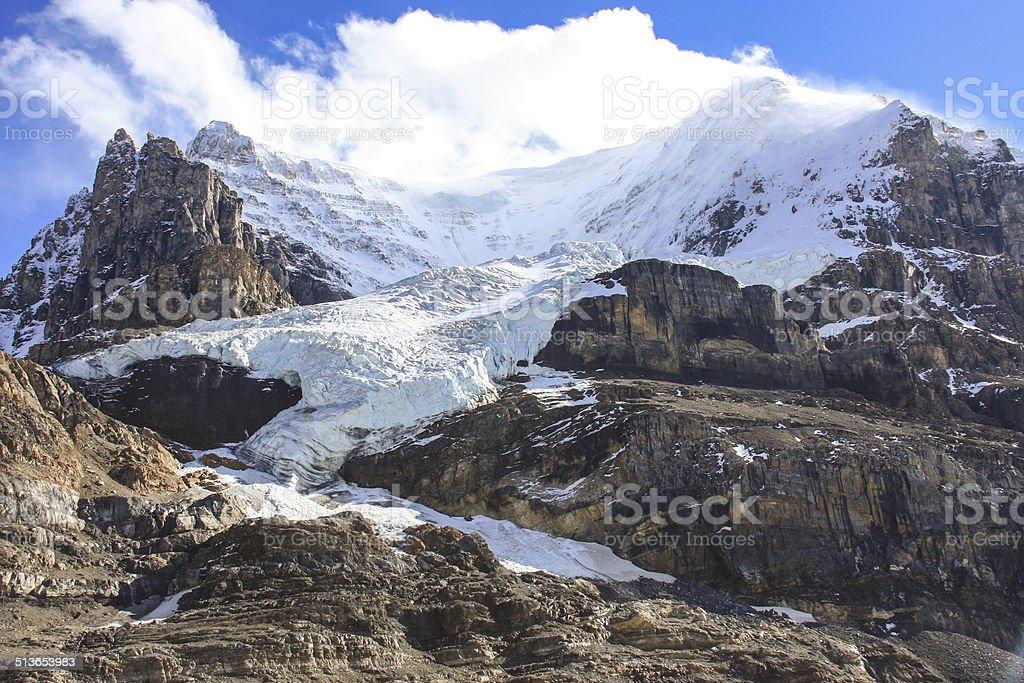 Mountaintop stock photo