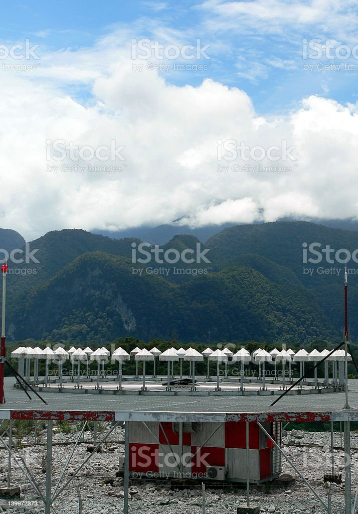 Mountaintop Radar / Transponder royalty-free stock photo