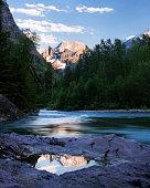 Mountaintop Reflection