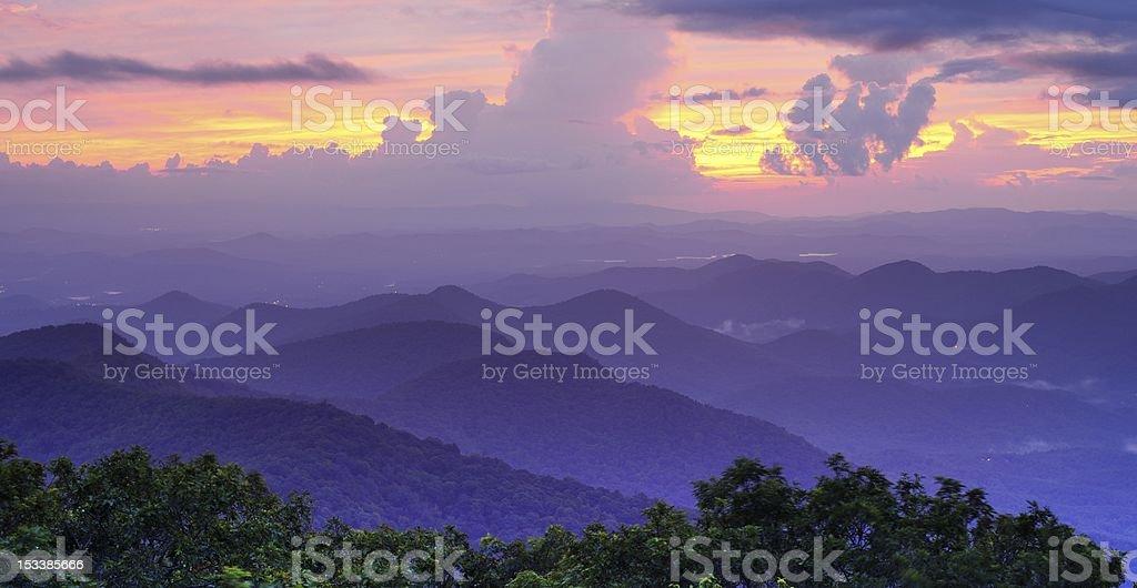 Mountaintop View royalty-free stock photo