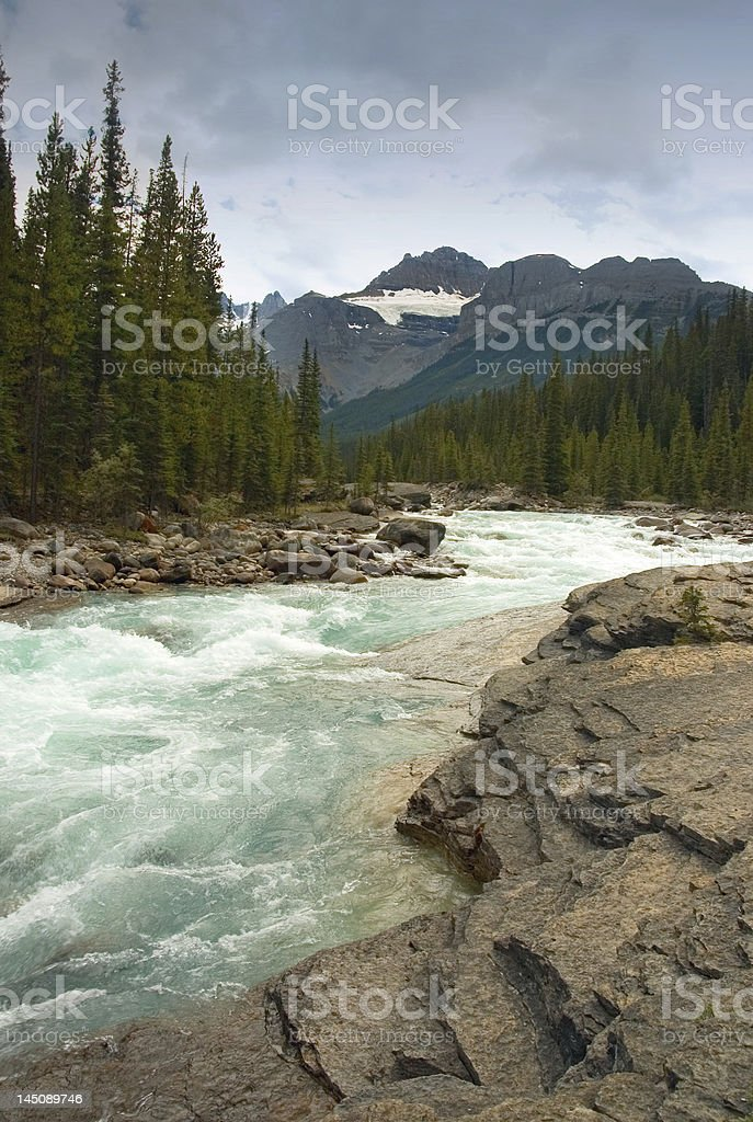 Mountian River stock photo