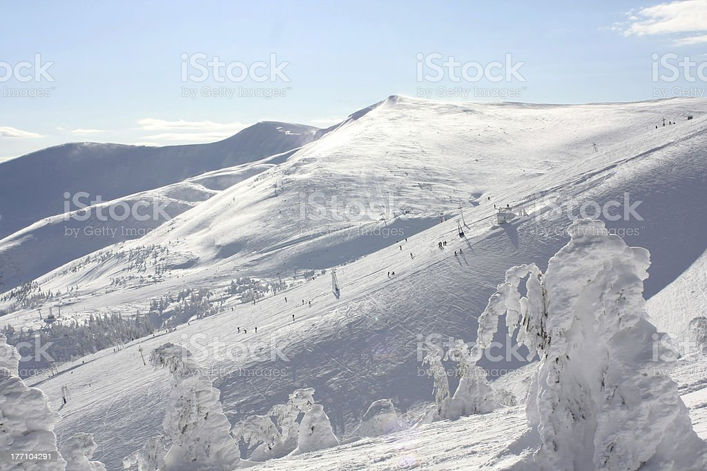 Mountin landscape royalty-free stock photo