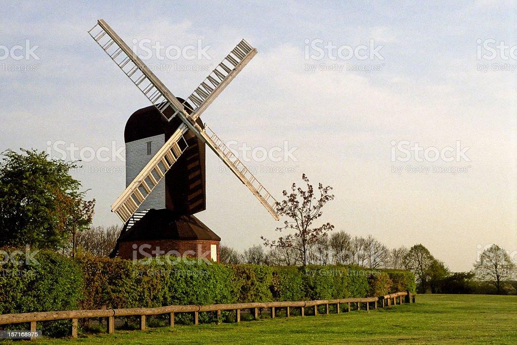 Mountnessing Windmill stock photo