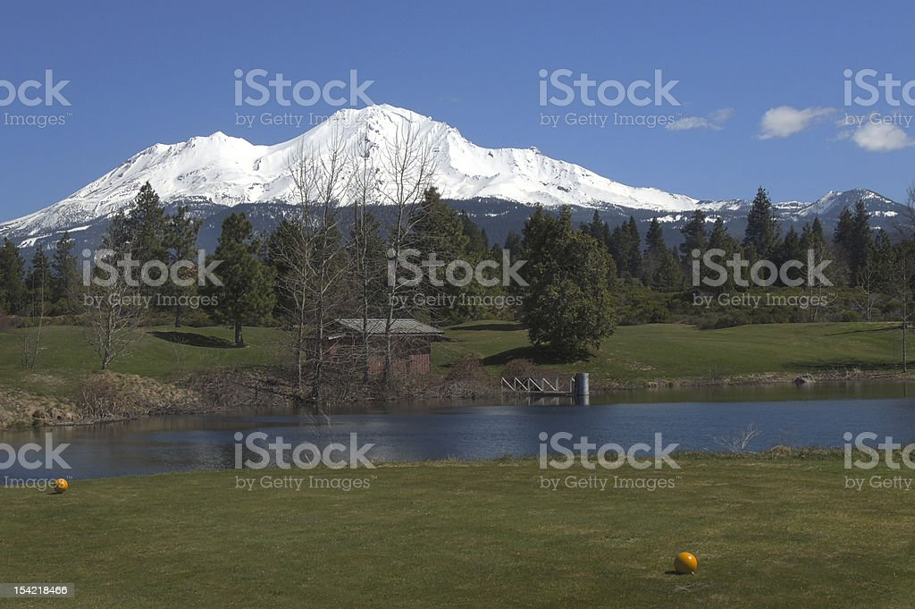 MountShasta royalty-free stock photo