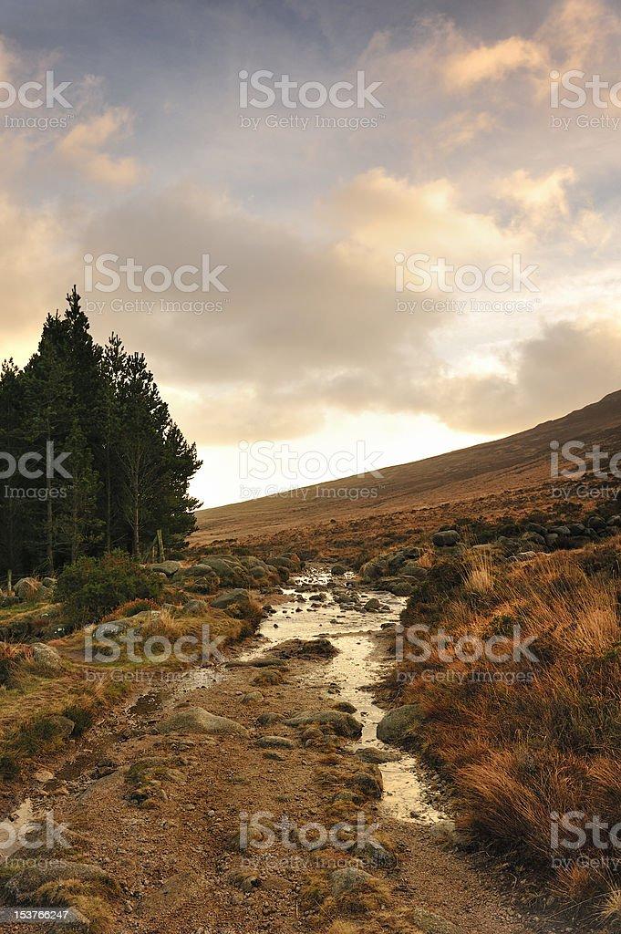 Mournes Moors stock photo