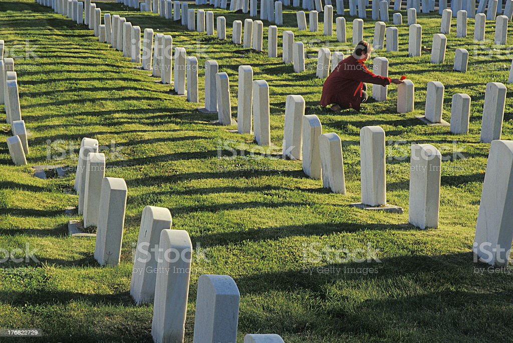 Mourning royalty-free stock photo