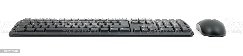 Mouse and Keyboard royalty-free stock photo