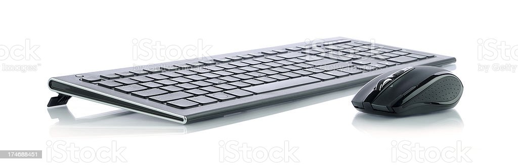 Mouse and keyboard stock photo