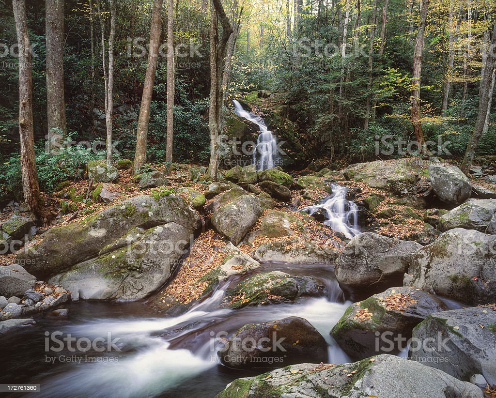 Mouse Creek Falls royalty-free stock photo