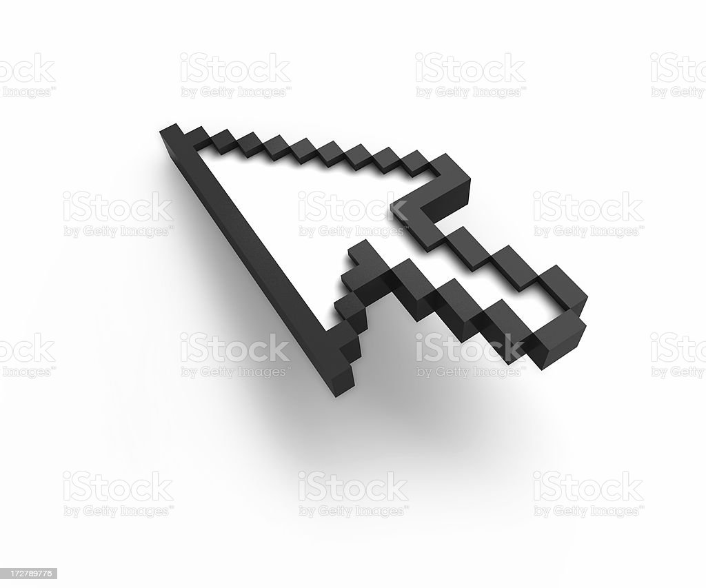 Mouse Cursor (internet concept) stock photo