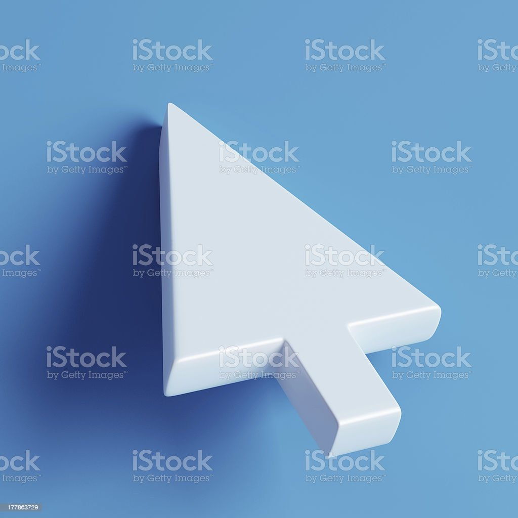 Mouse Cursor? stock photo