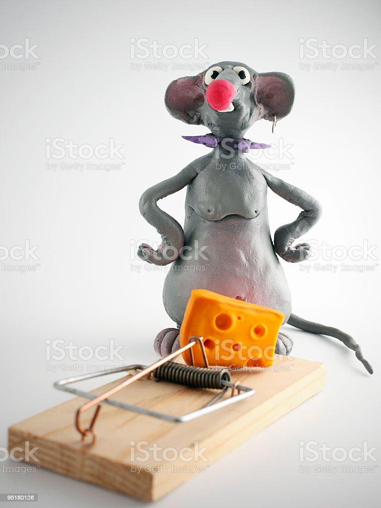 Mouse dilemma royalty-free stock photo