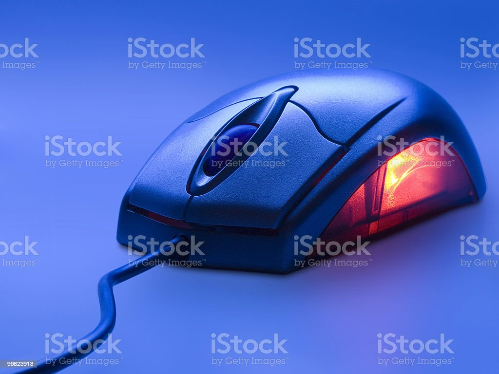 Mouse Glow stock photo