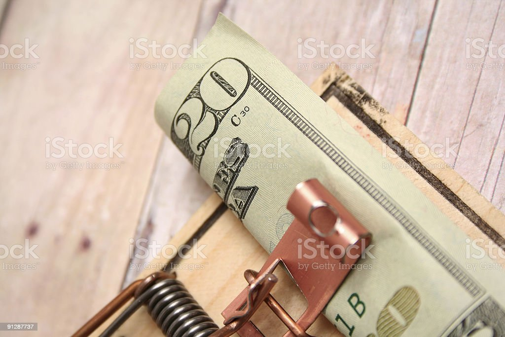 Mouse Trap royalty-free stock photo