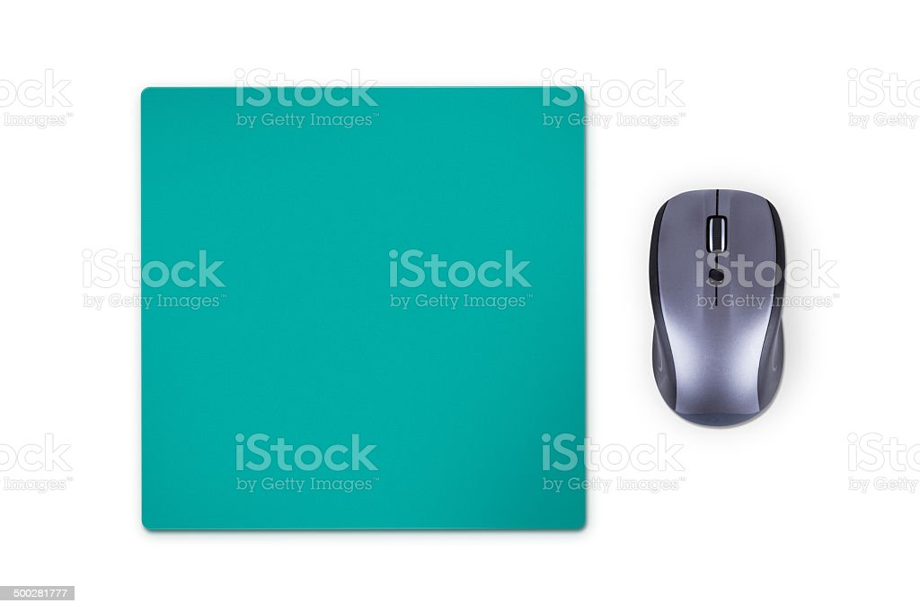 Mouse with Pad stock photo