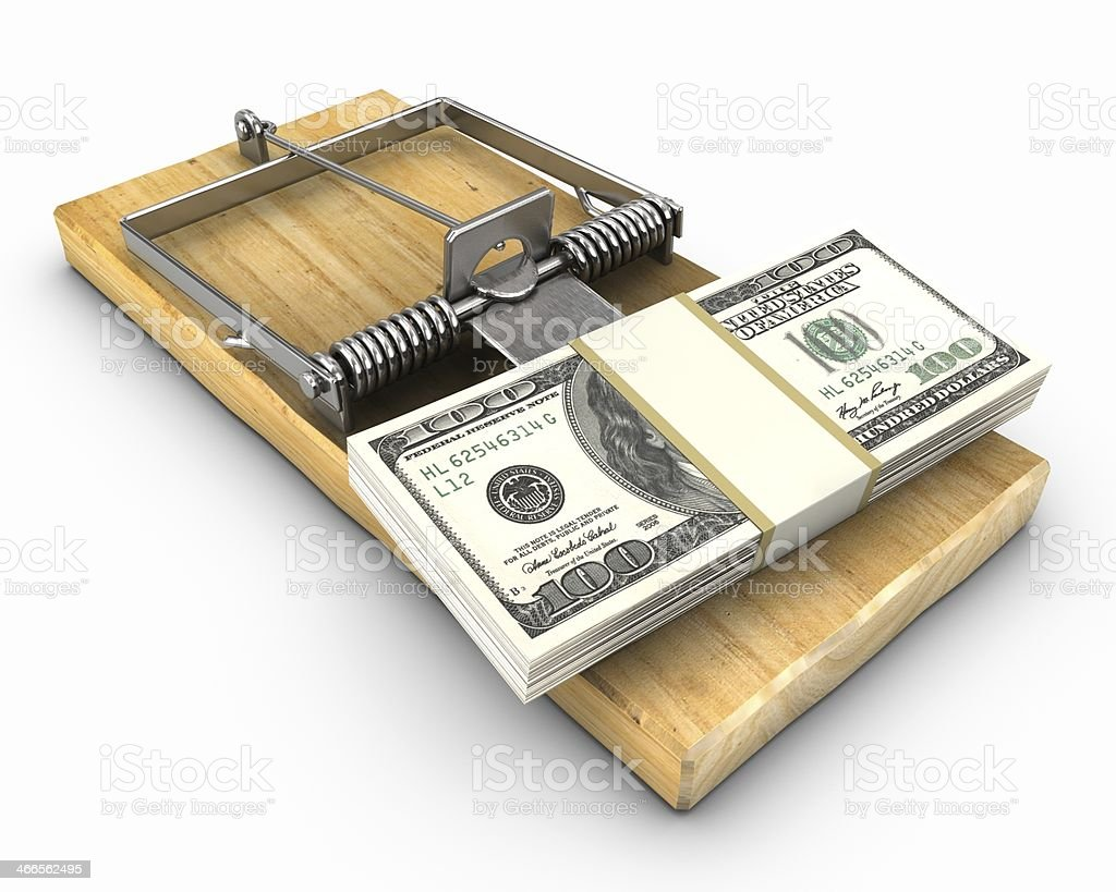 Mousetrap royalty-free stock photo