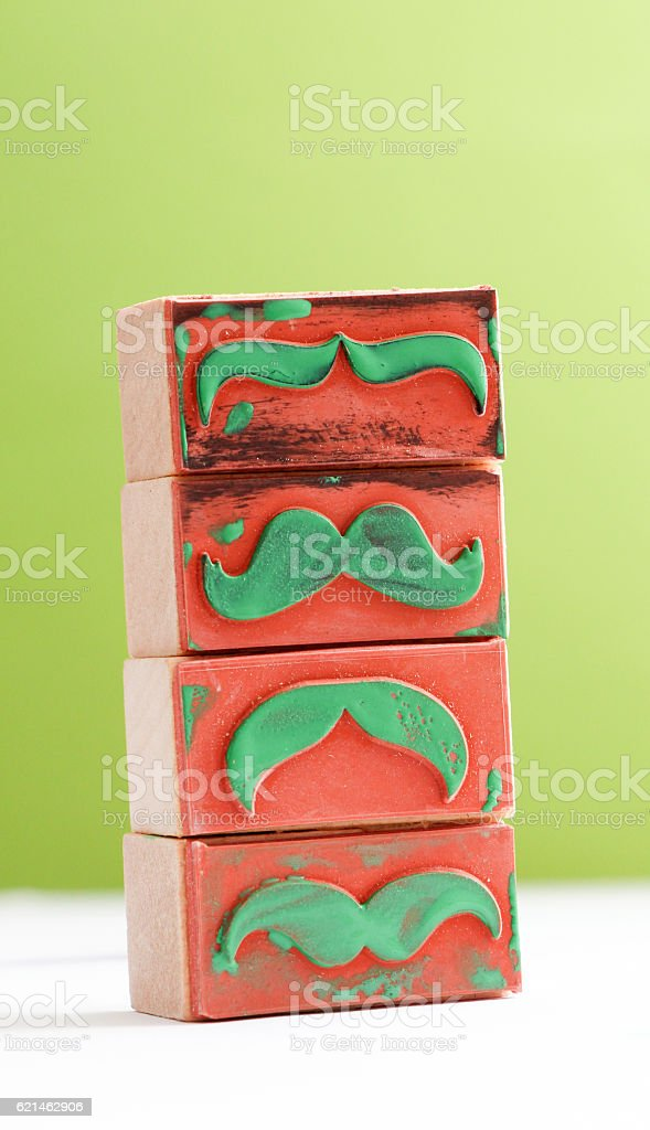 moustaches rubber stamp. Movember men's health awareness concept. stock photo