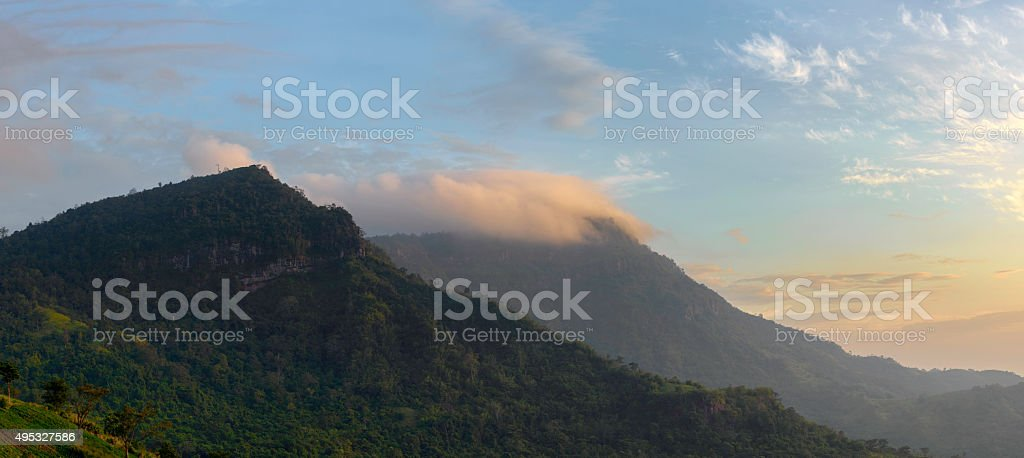 Moutain background royalty-free stock photo