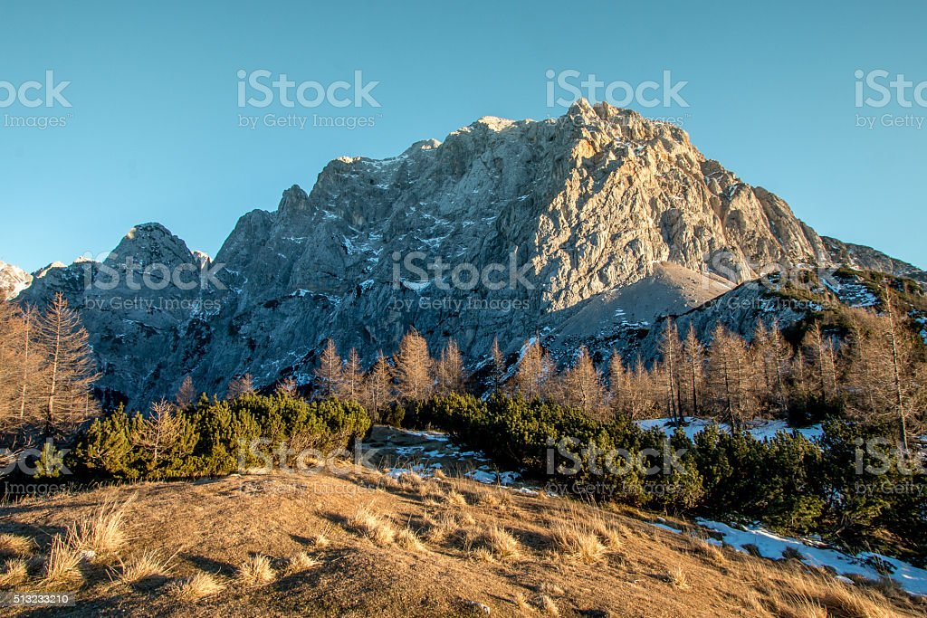 Moutain Prisank stock photo