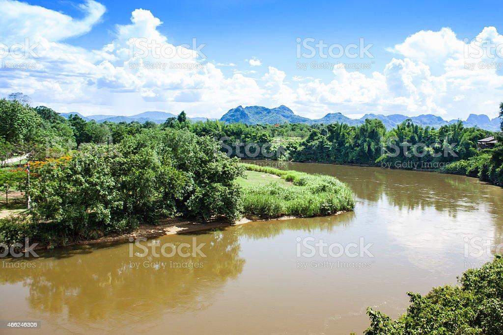 Moutain&River stock photo