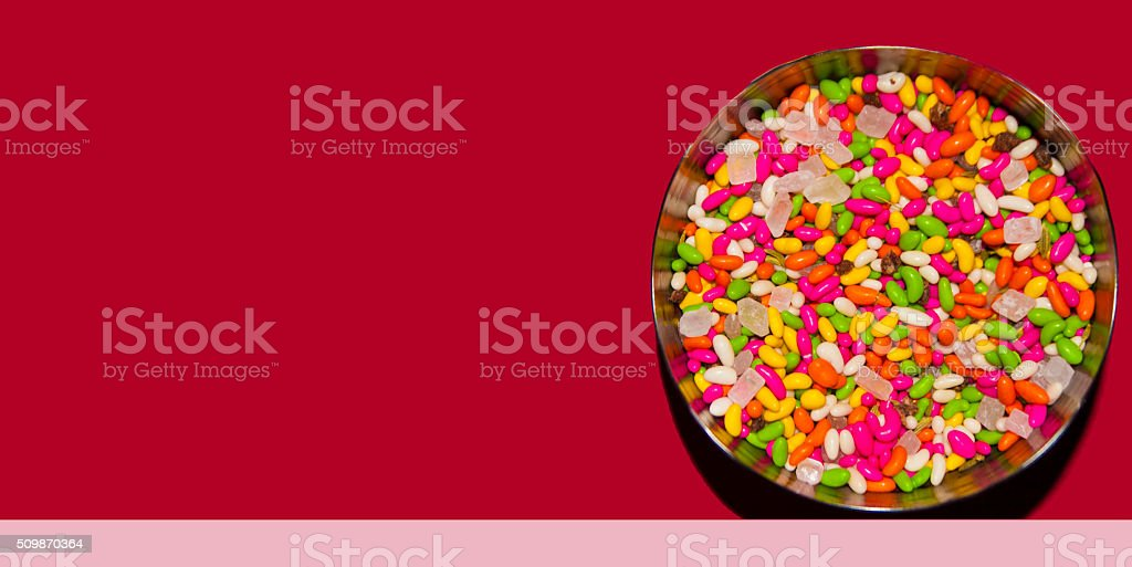 Mouth Freshener stock photo