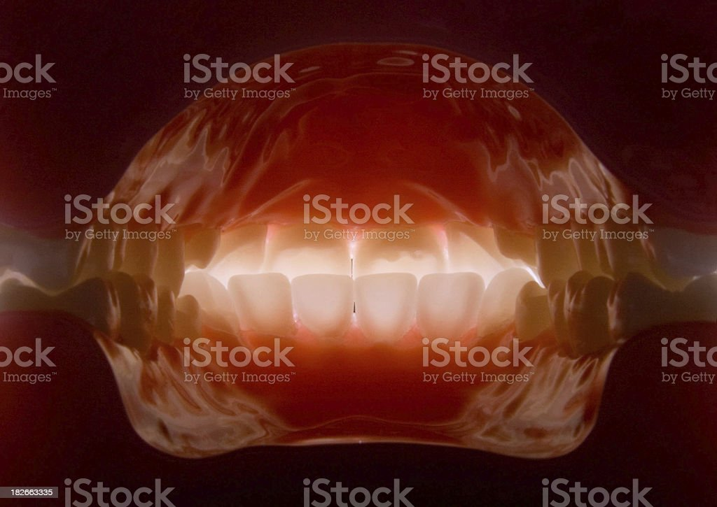 mouth inside stock photo