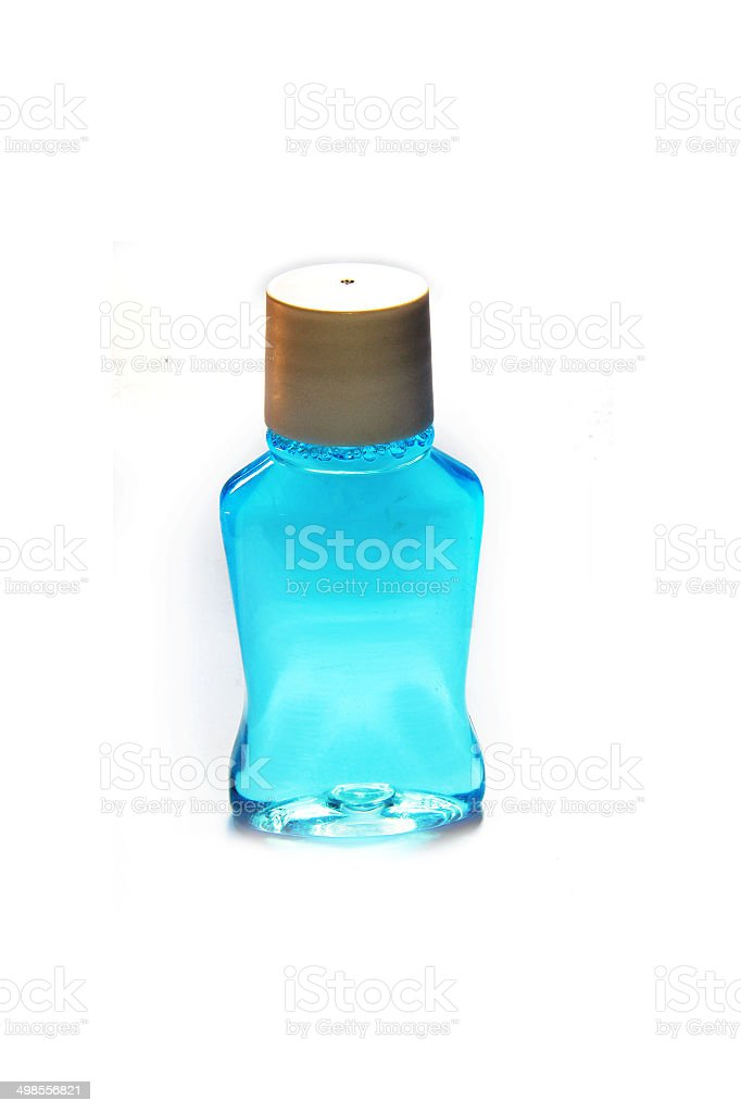 Mouth Wash royalty-free stock photo