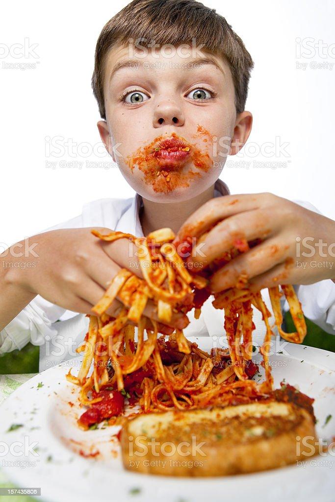 Mouthful stock photo