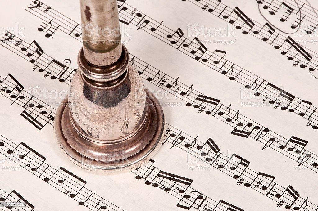 Música porta-voz foto royalty-free