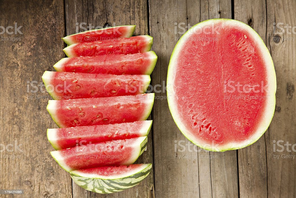 Mouthwatering Watermelon stock photo