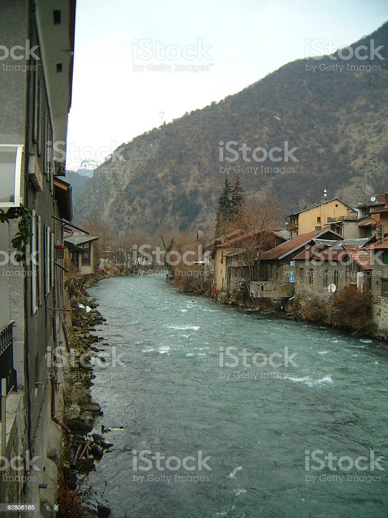 Moutiers royalty-free stock photo
