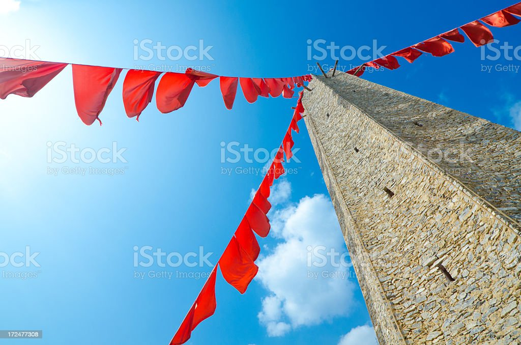 Moutuo Village Worshipping Tower - China royalty-free stock photo