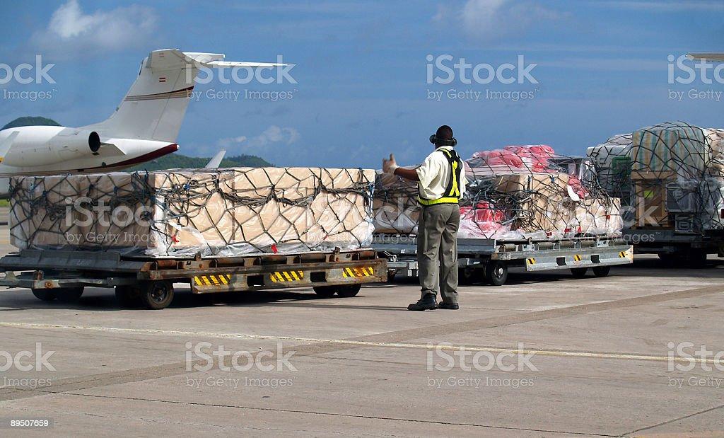 Move Cargo OK! royalty-free stock photo