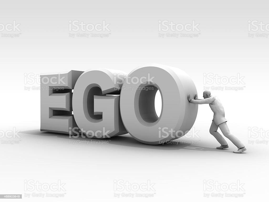 Move The Ego stock photo