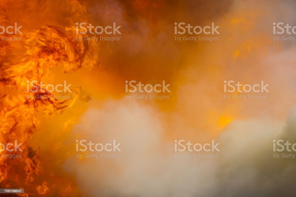 Movement flame fire. stock photo