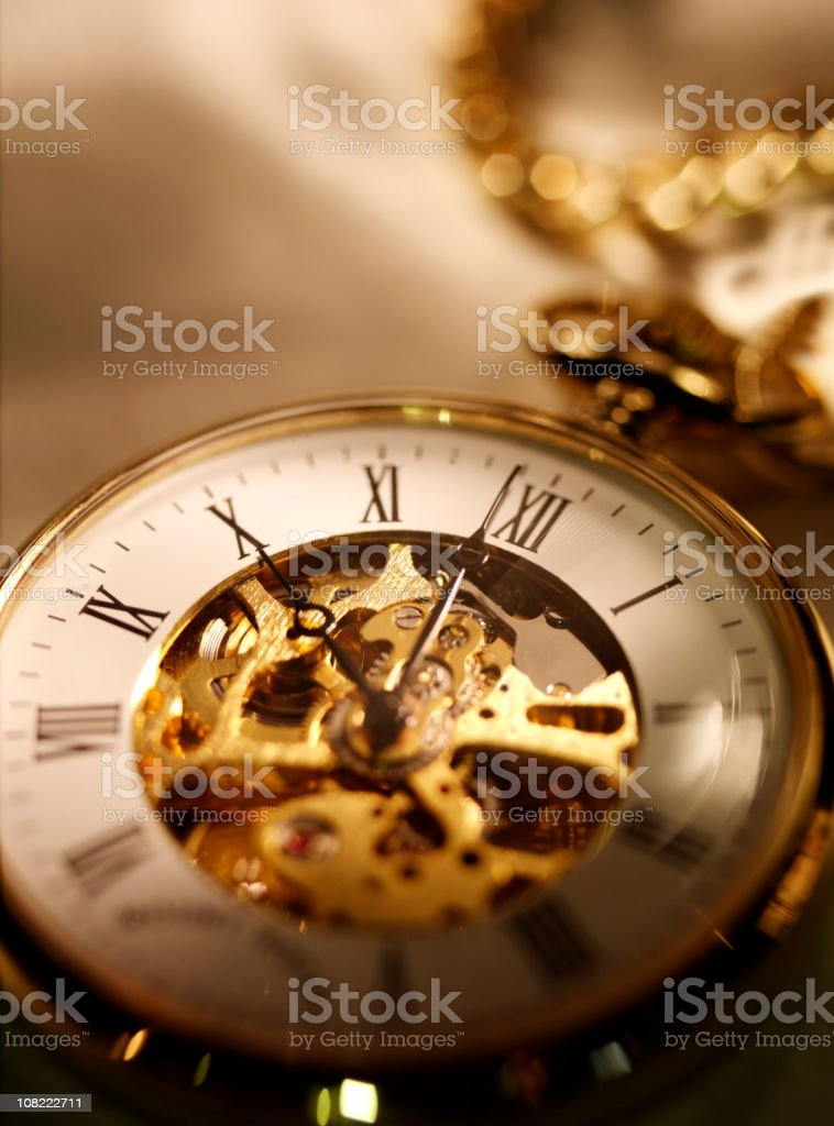 Movement of Time stock photo