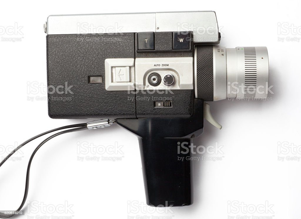 Movie Camera 8mm stock photo