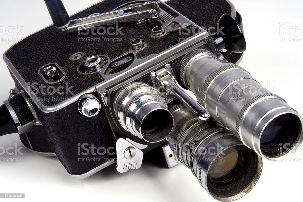 movie camera royalty-free stock photo