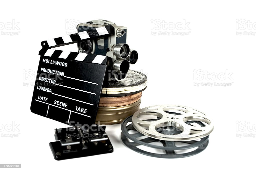 Movie composition royalty-free stock photo