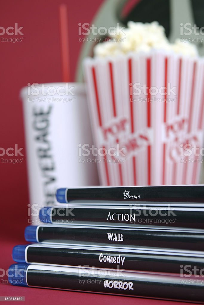 Movie Genres royalty-free stock photo