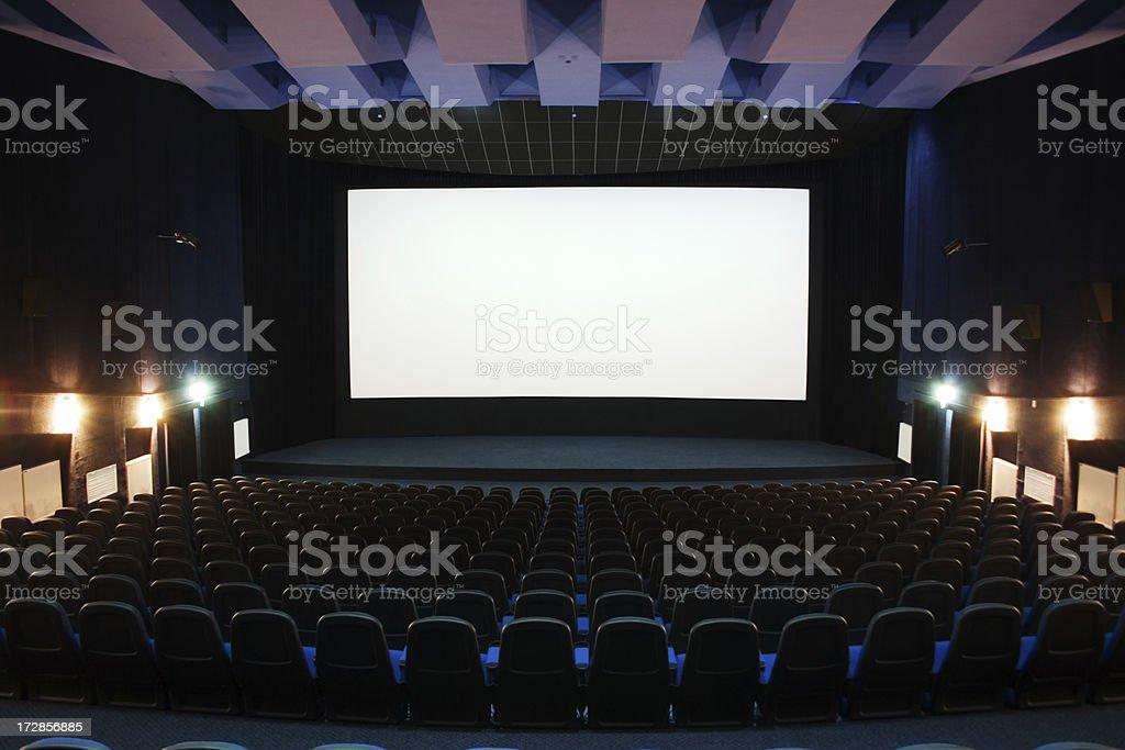 movie hall royalty-free stock photo
