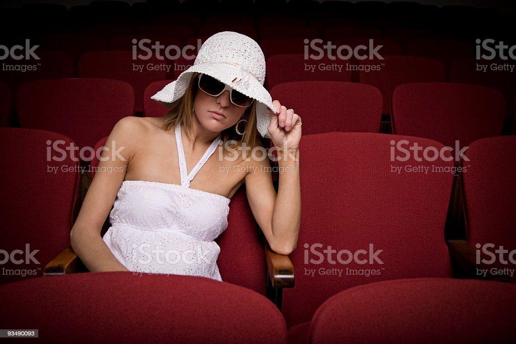 movie hideaway stock photo