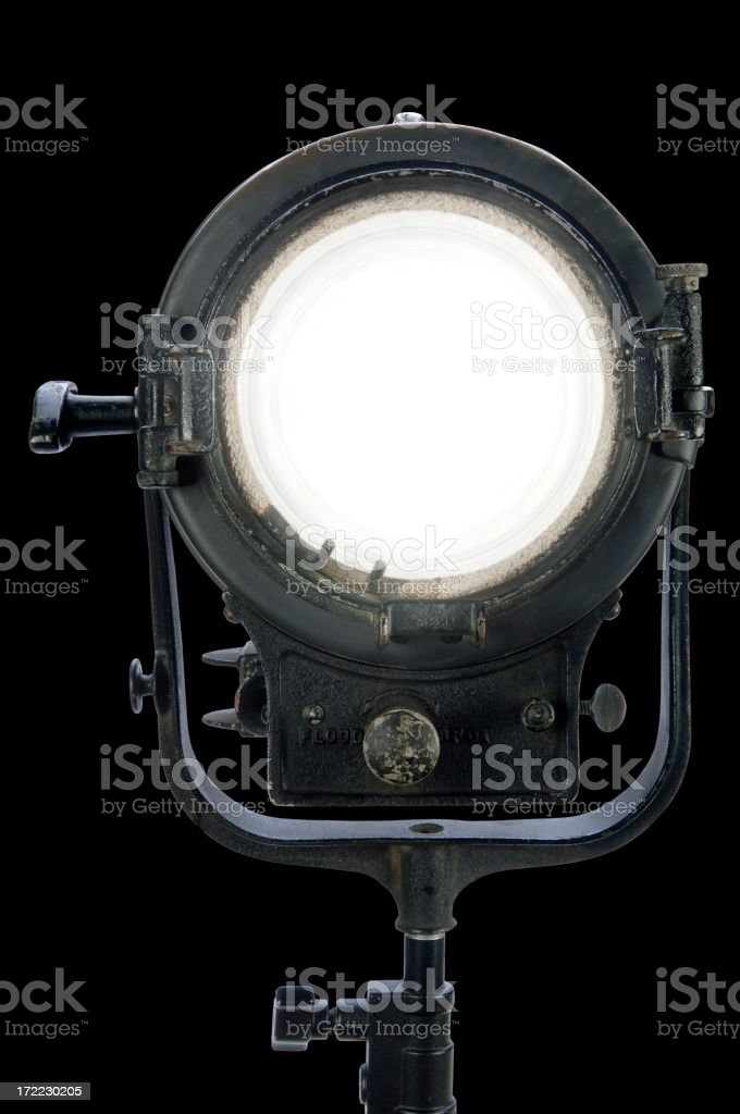 Movie Light with Paths royalty-free stock photo